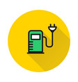 charging station for electric car icon vector image