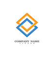 corporate icon vector image