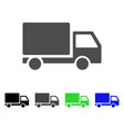 delivery lorry icon vector image vector image