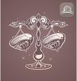 Libra zodiac sign horoscope vector image
