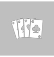 Poker Icon vector image