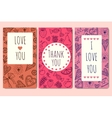 poster with the words thank you vector image