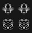 sacred geometry 0009 vector image