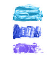 set of navy blue watercolor backgrounds vector image vector image