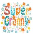 Super granny vector image