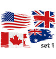 torn flag set us gb can australia