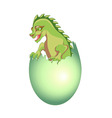 baby dragon vector image