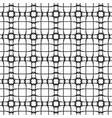 abstract pattern retro black and white vector image vector image