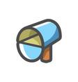 letter box mailbox icon cartoon vector image