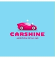 Logo car icon colored of glamorous vector image vector image