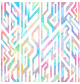 multicolor geometric seamless pattern vector image vector image