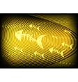 Phishing Information Technology Yellow vector image