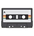 retro cassette tape vector image vector image