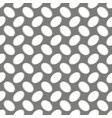 seamless geometric pattern perforated metal grill vector image vector image