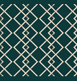 seamless pattern line vintage vector image vector image