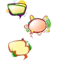 speak bubbles vector image vector image