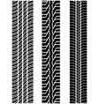 tread of cars 2 vector image vector image