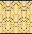 abstract art deco geometric seamless pattern vector image vector image
