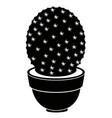 cute cactus icon vector image
