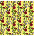 flowers handdrawn 33 380 vector image vector image