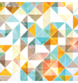 geometric background 1709 vector image vector image
