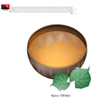 Kava Drink or Papua New Guinea Herbal Beverage vector image vector image