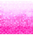pink crystal background vector image