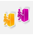 realistic design element slot machine vector image vector image