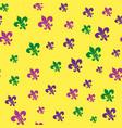 seamless pattern for carnival festival vector image vector image