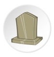 Sepulchral monument icon cartoon style vector image vector image
