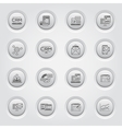 Set of Business and Marketing icons Button Design vector image