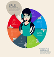 Fashion Graphic Information vector image