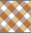 ancient check plaid fabric texture seamless vector image vector image