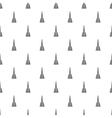 Broom floor pattern simple style vector image vector image
