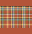 brown yellow check plaid pixeled seamless texture vector image vector image