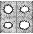 comic book monochrome concept vector image vector image