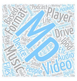 Do You Own An Mp Mp Player text background vector image vector image