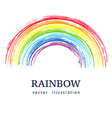 Ink rainbow Abstract background vector image vector image