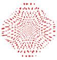 random star polka 13 1 00 vector image vector image