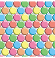 Seamless pattern with colorful candy vector image vector image