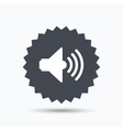 Sound icon Music dynamic sign vector image vector image