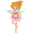 A beautiful young fairy vector image vector image