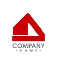 abstract realty logo - logo concept vector image vector image