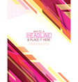 Abstract technology futuristic Background vector image vector image