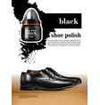 men shoes realistic set vector image vector image