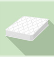 sleep mattress icon flat style vector image
