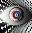 The Camera Eye vector image