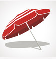 an umbrella from the sun vector image vector image