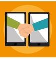 business online design vector image