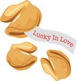 Lucky In Love vector image vector image